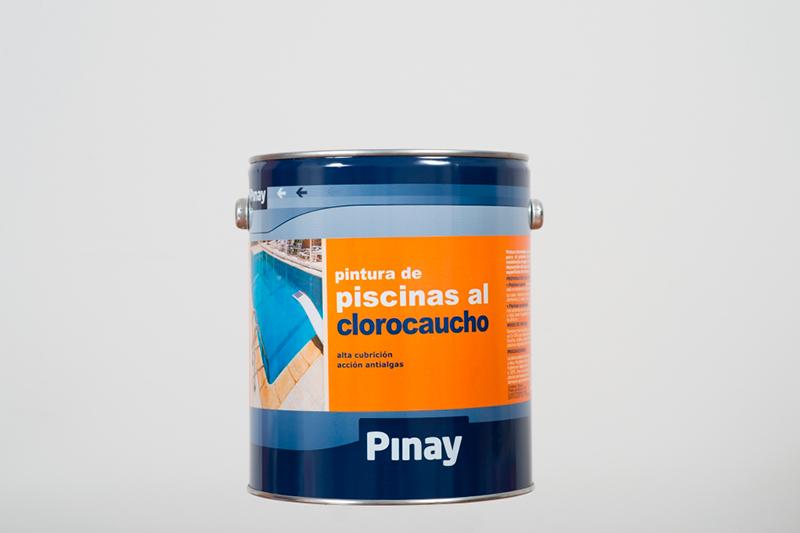 Pinturas pinay pintura piscinas al clorocaucho - Pintura piscina clorocaucho ...